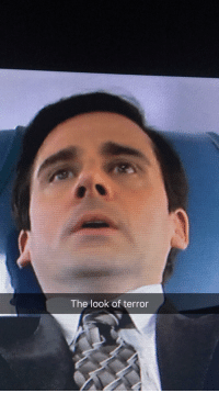 Giving Blood: The look of terror