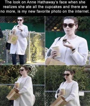 But… cupcakes… via /r/wholesomememes https://ift.tt/30gFyhU: The look on Anne Hathaway's face when she  realizes she ate all the cupcakes and there are  no more, is my new favorite photo on the internet. But… cupcakes… via /r/wholesomememes https://ift.tt/30gFyhU