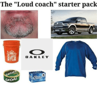 "The loud little league coach starter pack: The ""Loud coach"" starter pack  O A KLEY  Ko  S0  SKOA The loud little league coach starter pack"