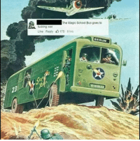 Fucking, School, and The Magic School Bus: The Magic School Bus goes to  fucking war  Like Reply 175 8 hrs  BERLIN  61213  23 <p>Captain frizzle</p>