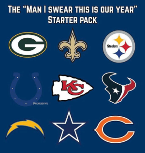 "Nfl, Steelers, and Starter Pack: THE ""MAN I SWEAR THIS IS OUR YEAR""  STARTER PACK  Steelers  'S  PMEMESOFNFL"
