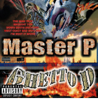 "Bad, Ghetto, and Master P: THE MAN THAT  BROUCHT YOU  DOWN SOUTH HUSTLERS  WEST COAST BAD BOYZ AND  I'M BOU了IT MOVE  Master P  naga Is Everyhing  usiC Sup  PARENTAL  ADVISORY  EXPLICIT CONTENT 20 years ago today, MasterP released ""Ghetto D"" featuring the tracks ""I Miss My Homies"", ""Ghetto D"", & ""Make 'Em Say Ugh"". Comment your favorite song off this album below! 👇🔥💯 @MasterP HipHop History WSHH"