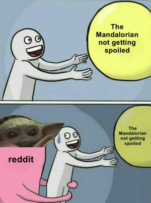 meirl: The  Mandalorian  not getting  spoiled  The  Mandalorian  not getting  spoiled  reddit meirl