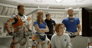 The Martian (2015) was an excellent movie starring Matt Damon, Bryce Dallas Howard, Henry Cavill, Jason Statham and Claire Danes. It was an ode to American ingenuity, can-do spirit, and scientific breakthroughs like contact lenses, which I forgot to wear while watching this: The Martian (2015) was an excellent movie starring Matt Damon, Bryce Dallas Howard, Henry Cavill, Jason Statham and Claire Danes. It was an ode to American ingenuity, can-do spirit, and scientific breakthroughs like contact lenses, which I forgot to wear while watching this