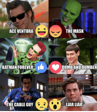 Guess who turns 55 today? Which was your Favorite Jim Carrey Movie? #HappyBirthday #IAmHot1061 #JimCarrey: THE MASK  ACE VENTURA  BATMAN FOREVER  I DUMBANDDUMBER  THE CABLE GUY  LIAR LIAR Guess who turns 55 today? Which was your Favorite Jim Carrey Movie? #HappyBirthday #IAmHot1061 #JimCarrey