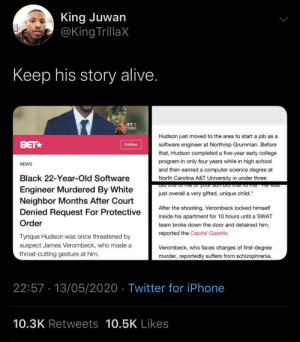 The mental illness didn't factor into the protective order but now it does? (via /r/BlackPeopleTwitter): The mental illness didn't factor into the protective order but now it does? (via /r/BlackPeopleTwitter)
