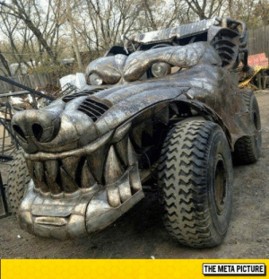 Tumblr, Blog, and Http: THE META PICTURE srsfunny:  Rad Metal Beast