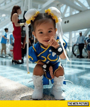 Chun-Li, Tumblr, and Blog: THE META PICTURE srsfunny:  Tiny Chun-Li