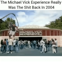Funny, Lol, and Michael Vick: The Michael Vick Experience Really  Was The Shit Back In 2004  exPeRieNCe Lol