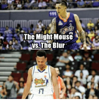 The Might Mouse  VS.The Blur the former vs. the present  both won 6 championships with TNT KaTropa 💪💪💪  - LabsKoh2