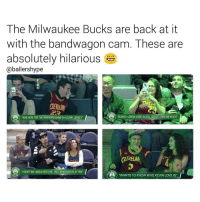 """🏀They just won't stop 😂 DOUBLE TAP & TAG a friend.🏀 nba nba2k17 nbaplayoffs nbamemes ➡Everyone ADD us on Snapchat 👻 - ballershype ➡TURN ON POST NOTIFICATIONS ➡Follow my other account @ballershype for NBA news, rumours, videos! ➡LIKE us on Facebook (Link in bio!): The Milwaukee Bucks are back at it  with the bandwagon cam. These are  absolutely hilarious  Caballershype  """"WAS HERE FOR THE WARRIORS GAMEINACURRY JERSEY  BURNEDALEBRONJERSEYIN 2010 BOUGHT ANEWONEIN 2014'  fVELAMA  """"I DIDNTSAYIWASAHEAT FAN.. I'MA WHEREVER HEAT FAN""""  """"WANTS TO KNOW WHO KEVIN LOVE IS"""" 🏀They just won't stop 😂 DOUBLE TAP & TAG a friend.🏀 nba nba2k17 nbaplayoffs nbamemes ➡Everyone ADD us on Snapchat 👻 - ballershype ➡TURN ON POST NOTIFICATIONS ➡Follow my other account @ballershype for NBA news, rumours, videos! ➡LIKE us on Facebook (Link in bio!)"""