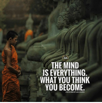 Hustler, Memes, and Money: THE MIND  IS EVERYTHING  WHAT YOU THINK  YOU BECOME  What you think you become. millionairedivision - - - - - - success entrepreneur inspiration motivation business boss luxury wisdom entrepreneurship billionaire millionaire hustler quotes quote money ambition hustle wealth quoteoftheday ceo startup businessman dream rich luxurylife workhardplayhard winner