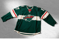Adidas, Beautiful, and Memes: The Minnesota Wild added a beautiful white stripe to their jersey. Perhaps the best addition of the day Wild Minnesota NHLDiscussion Adidas Jerseys