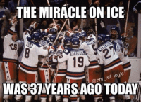 Logic, Memes, and Miracles: THE MIRACLE ON ICE  STROBEL  ef logic  @nhl WAS 37YEARS AGO TODAY Do you believe in Miracles? 🇺🇸 - nhl hockey miracleonice olympics usahockey