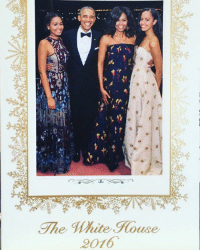 Funny, White House, and The White House: The Mite House  2016 The White House Christmas Card 2016 😭 please don't leave