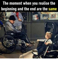 At the end it doesn't even matter. Follow @9gag to know more about life. 9gag life old young: The moment when you realise the  beginning and the end are the same At the end it doesn't even matter. Follow @9gag to know more about life. 9gag life old young
