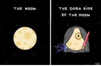 I'm done 😂: THE MOON  THE DARK SIDE  OF THE MOON I'm done 😂