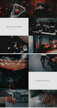 Target, Tumblr, and Blog: The more he falls for Neil,   the more he hates Neil. dailypalmetto:Because Neil is the one thing in the world that could destroy him, and Andrew isn't ready for that. He just doesn't realize yet he's too late to stop it.