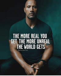 Tag someone 🔥 thesuccessclub: THE MORE REAL YOU  GET THE MORE UNREAL  THE WORLD GETS  The Success Club Tag someone 🔥 thesuccessclub