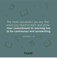 Spot on! Tag a friend that needs to see this!: The more successful you are, the  more you need to learn and grow.  Your commitment to learning has  to be continuous and unrelenting.  JOHN DONAHOE EBAY  found Spot on! Tag a friend that needs to see this!