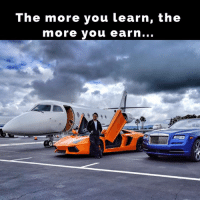 Jetting to Nba all star weekend in New Orleans in Gulfstream...: The more you learn, the  more you earn... Jetting to Nba all star weekend in New Orleans in Gulfstream...