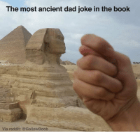 She's gotta be so tired of this joke by now...: The most ancient dad joke in the book  Via reddit: a GallowBoob She's gotta be so tired of this joke by now...