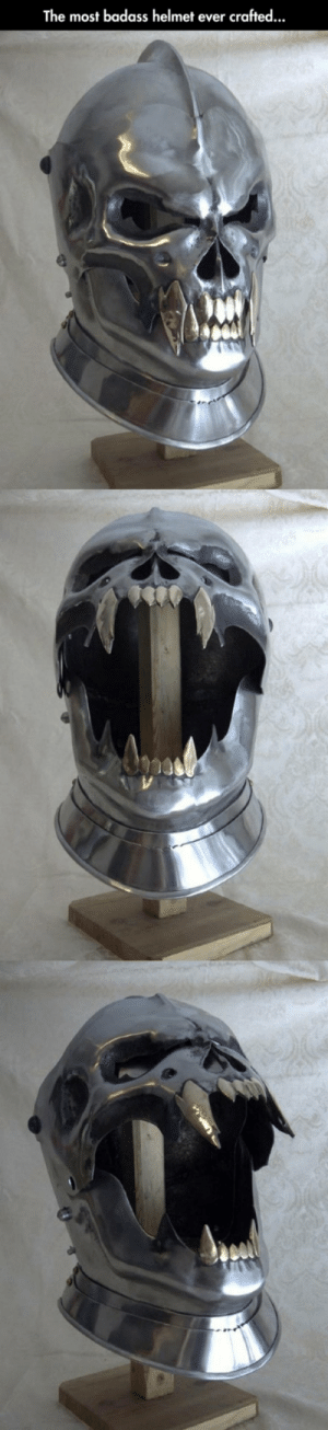 Tumblr, Blog, and Http: The most badass helmet ever crafted... happi-iris: nekonomikitty:  snakeybones:  bax16:  srsfunny: Functional Demon Helmet  @snakeybones      rawr