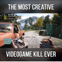 Credit: StealthGamer BR: THE MOST CREATIVE  Flee the area without being  Bonus objective: hide  the body  StealthgameFTR  VIDEOGAME KILL EVER Credit: StealthGamer BR