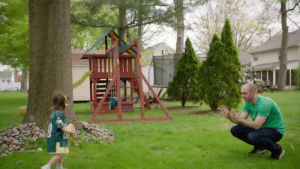 """Abc, Dallas Cowboys, and Philadelphia Eagles: The most important phrase @Eagles fan Matt MacMillan has taught his 3yr old daughter: """"Boo Cowboys!""""  Tonight, Matt could be crowned the NFL's biggest fan & win 100 years of season tickets. Find out if he wins at the start of the #NFLDraft tonight on NFLN/ESPN/ABC (8p ET) #NFL100 https://t.co/Rghl6PaURd"""