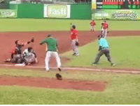 Mlb, Insane, and Walk Off: The most INSANE walk-off ever!