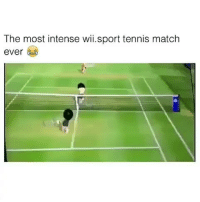 Funny, Match, and Tennis: The most intense wi.sport tennis match  ever War... funnirst15 viralcypher funniest15seconds Www.viralcypher.com