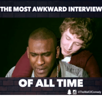Funny, Radio, and Bbc: THE MOSTAWKWARD INTERVIEW  OF ALL TIME  @TheWallOfComedy When Skepta had the most awkward interview of all time  BBC Radio 1