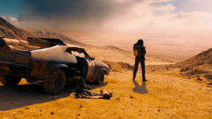 The movie Mad Max: Fury Road (2015) is actually a documentary depicting Australia in a couple of months from now.: The movie Mad Max: Fury Road (2015) is actually a documentary depicting Australia in a couple of months from now.