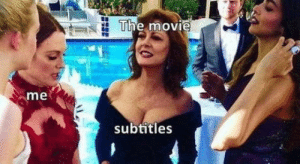 Milky bags: The movie  me  subtitles Milky bags