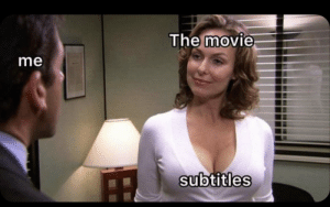 The only way to watch movies. https://t.co/A3WnkbuqdH: The movie  me  subtitles The only way to watch movies. https://t.co/A3WnkbuqdH