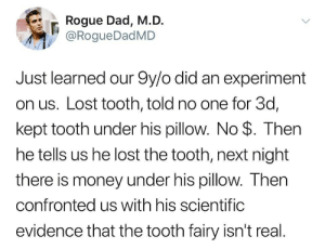 The Mystery of the lost tooth.: The Mystery of the lost tooth.