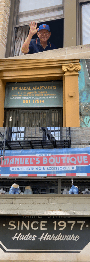 "Memes, Taken, and Avenue: THE NADAL APARTMENTS  67 12 month leases  studio, one, two & three bedroom apartments  HAZ DE ESTE TU HOGAR FAMILIAR EN LAS ALTURAS  551 175TH  AU   SINCE 198O  iMANUEL'S BOUTIQUE  FINE CLOTHING & ACCESSORIES   SINCE 1977  Hudes Hurdwahe We are wrapped on EXTERIORS for the block on #InTheHeightsMovie.  Forever grateful to the residents on all 4 corners of 175th street & Audubon Avenue, for welcoming us to their block with open arms. We'll make you proud. ""Before the corner changes and the signs are taken down..."" https://t.co/pF4X0dKPsS"