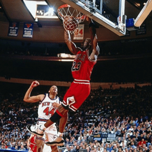 * The NBA added Hubert Davis' reaction. The dunk happened in 1991 and he wasn't drafted to the Knicks until 1992.    But he still got to witness a few Jordan dunks in the NBA.  H/T @Howsito https://t.co/sczRtn7IjQ: * The NBA added Hubert Davis' reaction. The dunk happened in 1991 and he wasn't drafted to the Knicks until 1992.    But he still got to witness a few Jordan dunks in the NBA.  H/T @Howsito https://t.co/sczRtn7IjQ