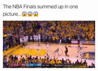 timeout: The NBA Finals summed up in one  picture  CLE 115 GS  129 4th 39.6  inal Gs leads 3-1  TIME OUTS 2  TIMEOUT S