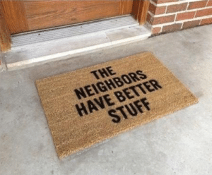 Funny, Neighbors, and Via: THE  NEIGHBORS  HAVE BETTER Dear robber.. via /r/funny https://ift.tt/2FA8oEy