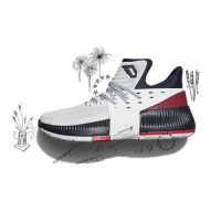 The new adidas Dame 3 USA inspired kicks are available now at select Champs and online! 🇺🇸: The new adidas Dame 3 USA inspired kicks are available now at select Champs and online! 🇺🇸