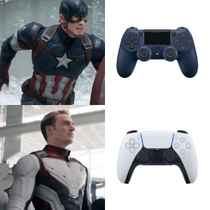 The new controller looks familiar: The new controller looks familiar