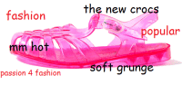 so hot.: the new croc  fashion  mm hot  passion 4 fashion  popular  soft grunge so hot.