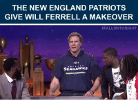 """<p><a href=""""https://www.youtube.com/watch?v=qYA28svTOsQ"""" target=""""_blank"""">The Patriots give Will Ferrell's Seahawks sweatshirt the Bill Belichick treatment (per his request)!</a><br/></p>: THE NEW ENGLAND PATRIOTS  GIVE WILL FERRELL A MAKEOVER   #FALLONTONIGHT  SEAHAWks <p><a href=""""https://www.youtube.com/watch?v=qYA28svTOsQ"""" target=""""_blank"""">The Patriots give Will Ferrell's Seahawks sweatshirt the Bill Belichick treatment (per his request)!</a><br/></p>"""