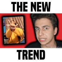 Friends, Memes, and 🤖: THE NEW  f @gabeErwin  TREND which trends do you like? • follow me @gabeerwin for more • 👇🏻 TAG YOUR FRIENDS 👇🏻