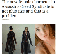 The New Female Character In Assassins Creed Syndicate Is Not Plus