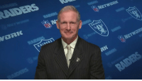 Memes, Raiders, and Awesome: The new GM of the @Raiders, Mr. @MikeMayock!  This is awesome. @MoveTheSticks @RhettNFL (via @nflnetwork) https://t.co/BNeKSyA3EF