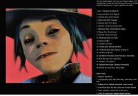 "Markell, Money, and Party: The new Gorillaz album, only more of Special edition 2 CD  set featuring a second disc with bonus tracks and a 20page  booklet, al packaged  Gpanel, gatefold card wallet.  1. intro: ISwitched My Robot Ott  Ascension (feat. Vince Staples0  Strobelte test. Peven Everett)  Saturnz Barz (feat. Popcaan)  Momentz (feat. De La Soul)  Interlude: The Non-conformist Oath  Submission (feat. Danny Brown & Kelela)  Charger (feat. Grace kones)  Interkude: Eevator Going Up  10. Andromeda (feat. DRAM)  11, Busted and Blue  12  Interlude: Tak Radio  13, Camival (teat. Anthony Hamiltonj  14. Let Me Out (feat. Mavis Staples & Pusha T)  Interlude: Penthouse  16. Sex Murder Party (feat. Jamie Principle &Zebra Katz)  She's My Colar (feat. Kal Uchis)  18. Interlude: The Elephant  19. Hallujah Money (aat. Benjamin Clementine)  20 We Got The Power Ideat. Beth)  Bonus Tracks  Interkude: New World  2. The Apprentice (teat, Rag'n'Bone Man. Zebra Katz & RAY  Halfway To The Halfway House (feat. Peven Everett  4. Out Body (feat. Kilo Kish, Zebra Katz & mani vormsha)  5, Ticker Tape feat Carly Simon & K Uldis)  6. Circle Friendz (eat Brandon Markel Holmes) Gorillaz's new album titled ""HUMANZ"" is set to release April 28th. Here's the tracklist 🔥 https://t.co/gmFEb7AY5a"