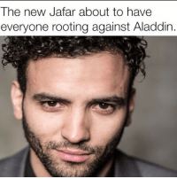<p>Hot diggity DAMN.</p>: The new Jafar about to have  everyone rooting against Aladdin <p>Hot diggity DAMN.</p>