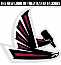 THE NEW LOGO OF THE ATLANTA FALCONS  @NFL MEMES Only the Falcons can lose after being up 21-0  Like Us NFL Memes!